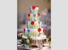 10 wedding cakes qui se marient avec les couleurs du printemps   Mariage.com