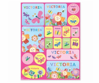 Flowers Personalized Stickers