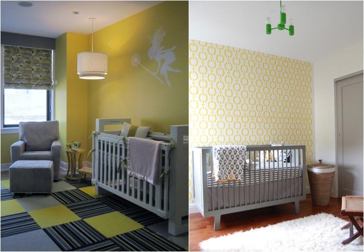 Chambres en couleurs quot neutres quot jaune et gris - Boistooffu