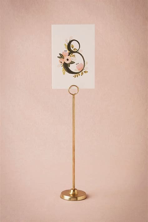 Best 25  Table number stands ideas on Pinterest   Wedding