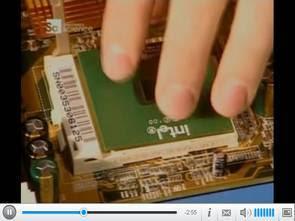 Video về công việc và phần của máy tính
