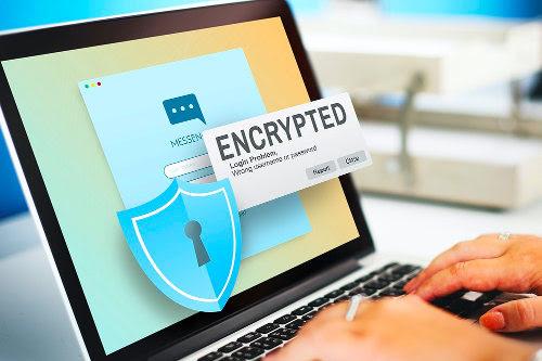 Data encryption in data backup