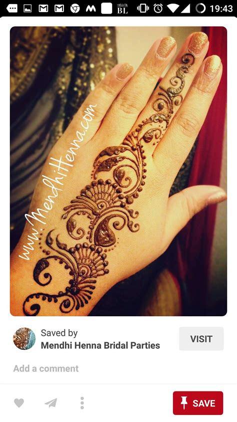 quick easy hand henna henna designs hand tattoos