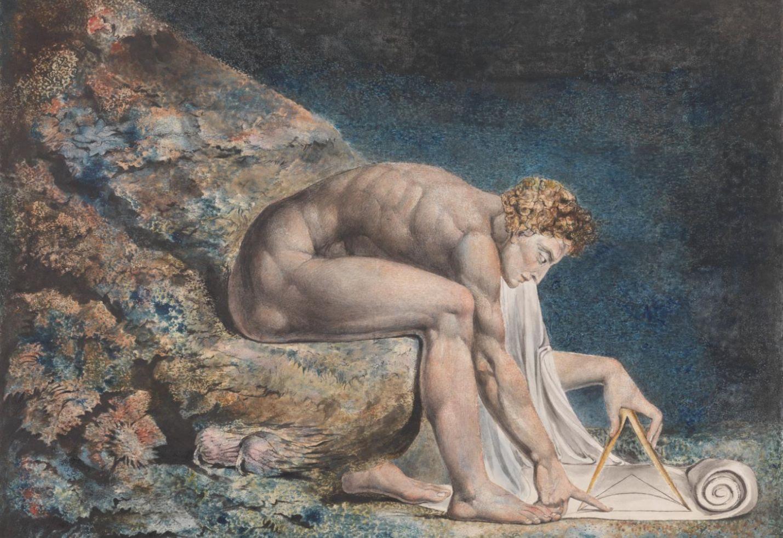 William Blake, Newton