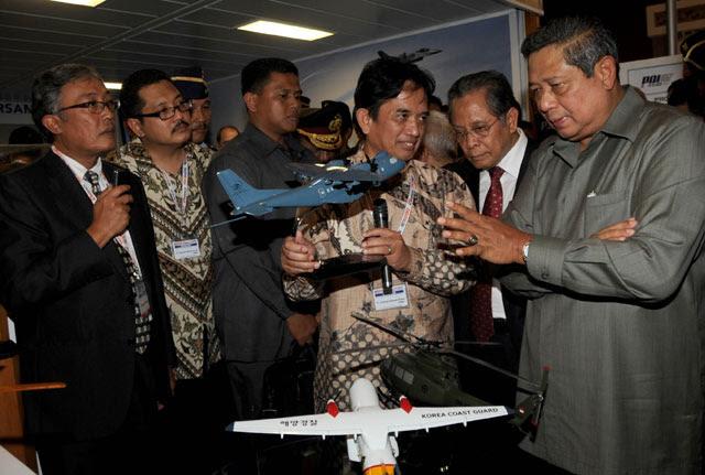 Foto Pameran Indo Defence 2010