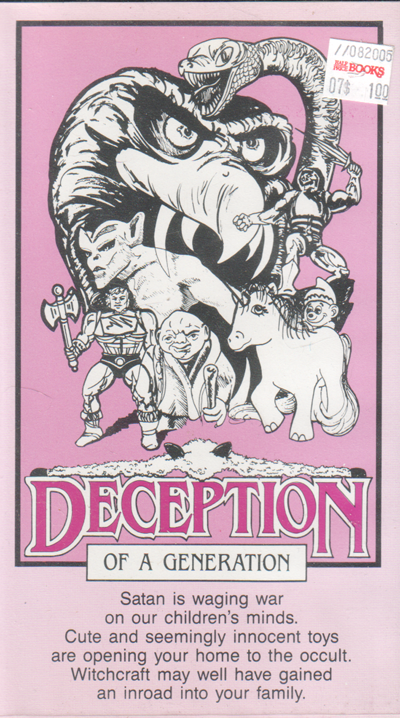 Deception of a Generation VHS