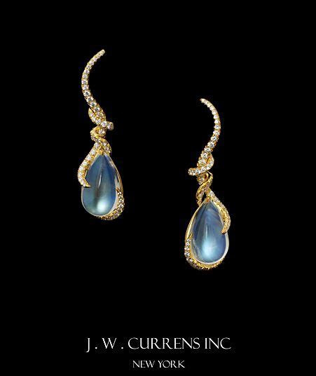 JW Currens Moonstone Earrings   Trinkets in 2019   Jewelry