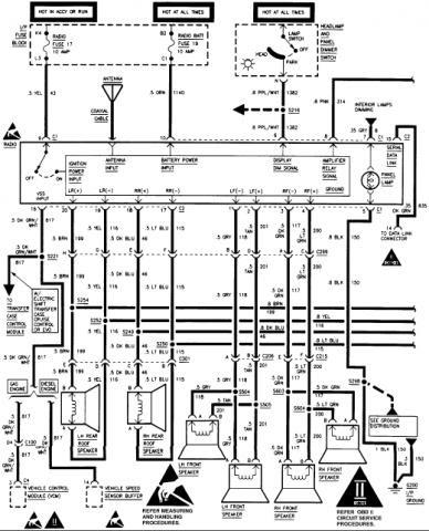 35 2007 Tahoe Radio Wiring Diagram Wiring Diagram List