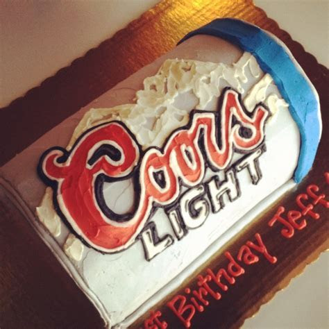 Coors Light Beer Can Cake by 2tarts Bakery New Braunfels
