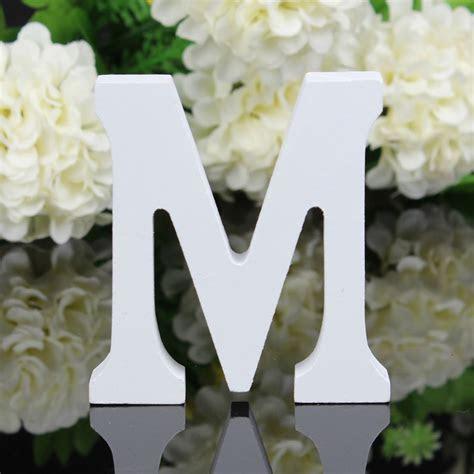 Wooden Letters Alphabet Bridal Wedding Birthday Names