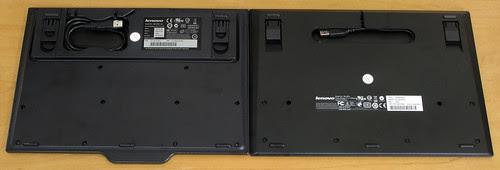 ThinkPad USB Keyboard: Bottom view