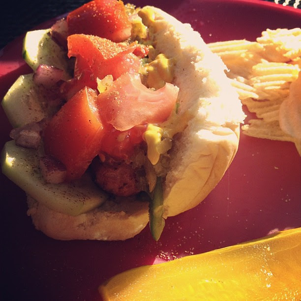 My version of the #chicagodog