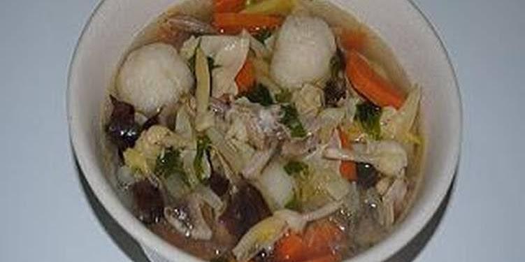 Resep Sup Kimlo (ala Masakan Padang) #BikinRamadhanBerkesan Oleh Hj. Masnelly Sjamsuddin, BA