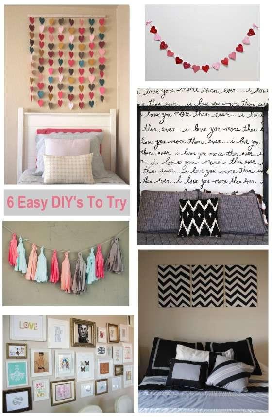 Room Decor Ideas Diy Pinterest Bedroom Design