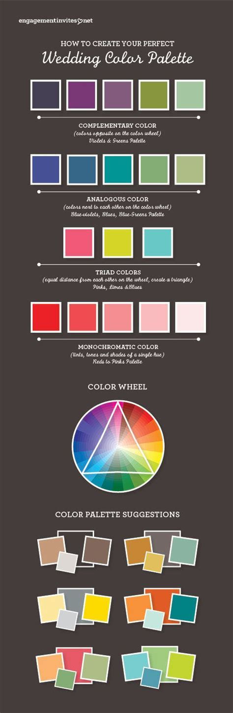 #colorpalette, #infographic, #theperfectpalette How to