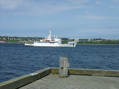 Vessel in Halifax harbour
