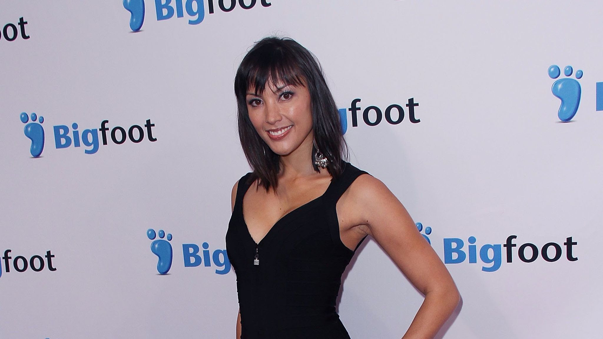 "Actress Jaymee Ong arrives at the 2011 premiere of ""Deep Gold"" in Westwood."