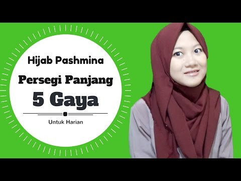 TUTORIAL CARA BERHIJAB SIMPLE