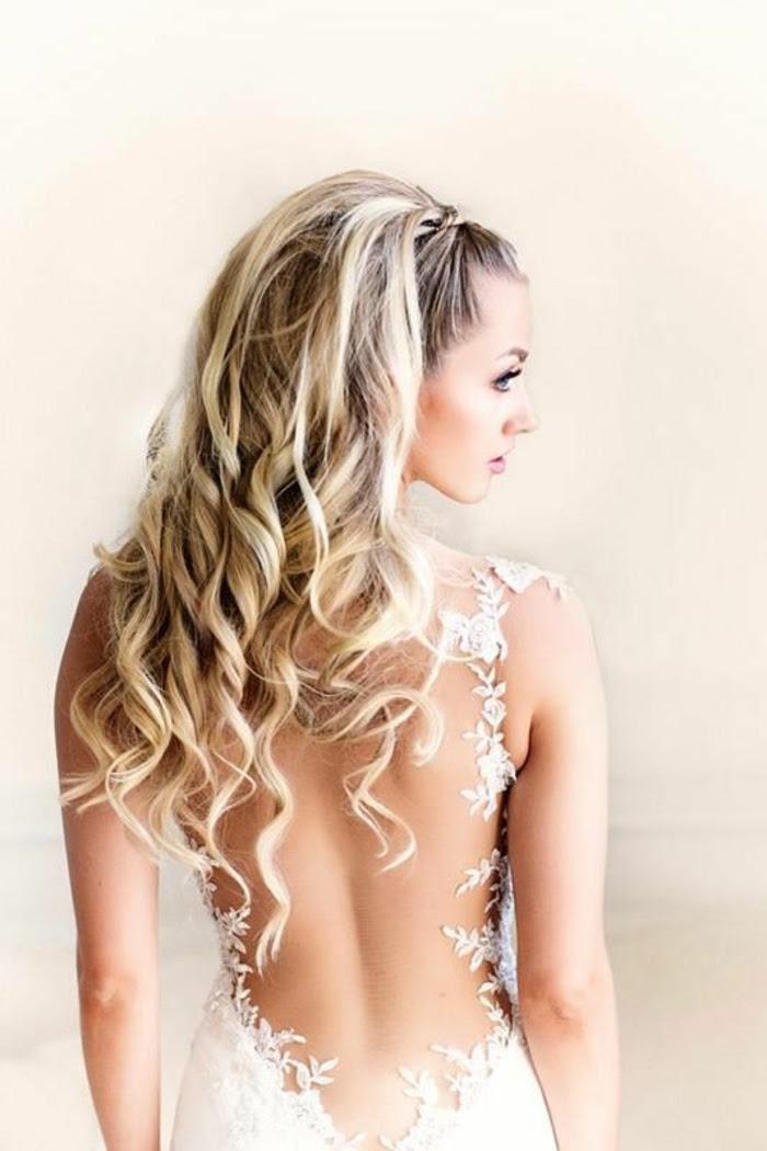 Brautfrisuren Halboffen 24 Elegante Ideen Für Den Wichtigsten