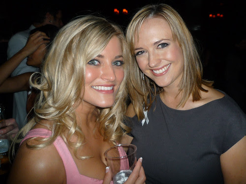 iJustine and Amanda at the Streamy Awards 2010