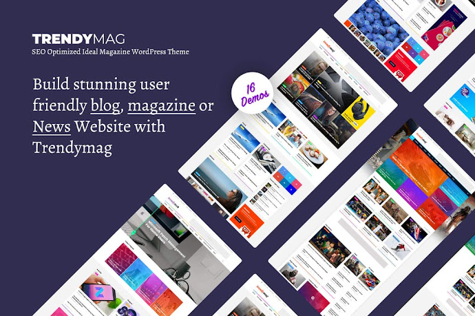 Premium TrendyMag - WordPress News Magazine & Blog Theme