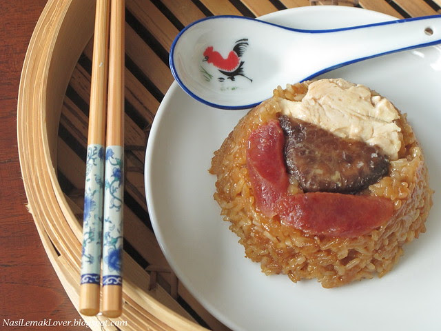Lo Mai Kai (steamed savoury glutinous rice with chicken)