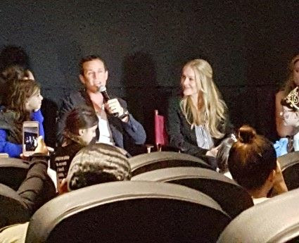 The Moms Aladdin Movie Diamond Edition Screening with Scott Weigner and Linda Larkin