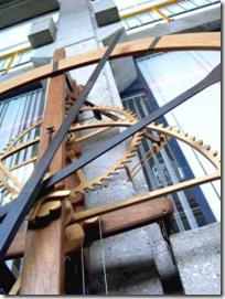 wooden clockwork