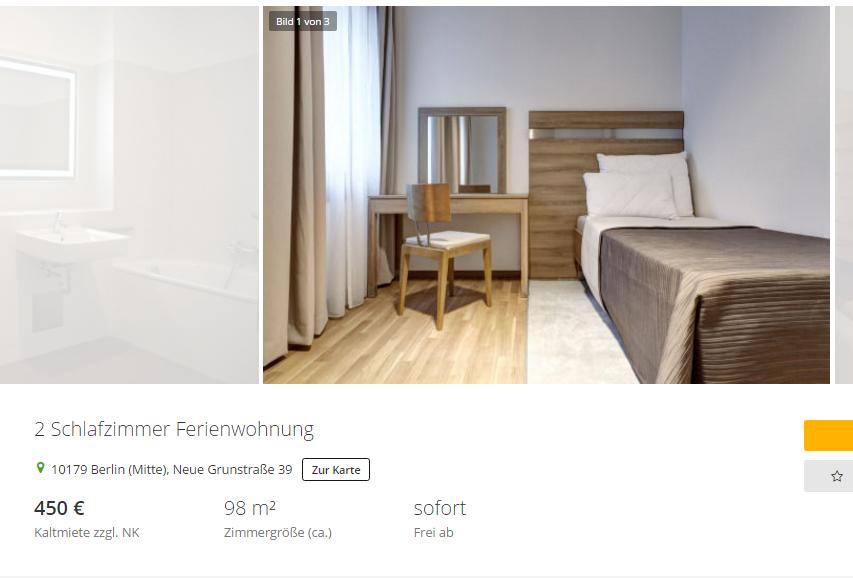 wohnungsbetrug.blogspot: 2 schlafzimmer ferienwohnung 10179