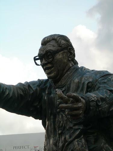 Harry Caray Statue Wrigley