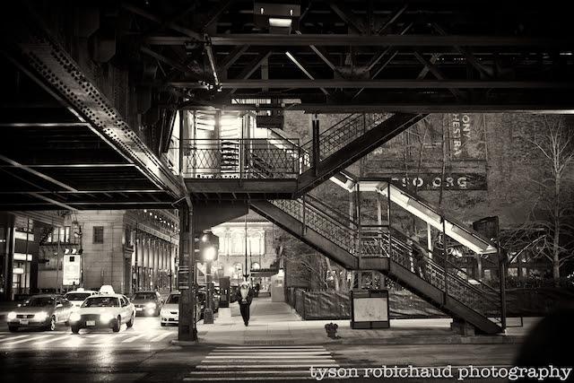 Tyson Robichaud's Wintry Chicago