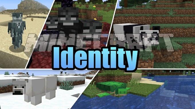 Minecraft Mod - Download Identity Mod 1.16.1 - Assuma a forma de um Mob