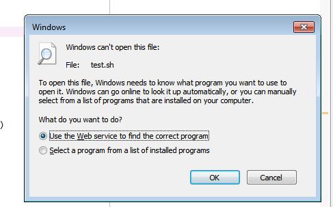 run  sh file from python spyder in windows