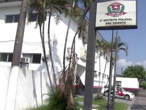 Casos são investigados no 2° Distrito Policial de São Vicente (Foto: G1)