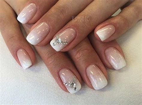 31 Elegant Wedding Nail Art Designs   Wedding, Nail design