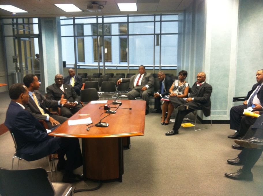 Councilmember McDuffie Mets with Faith-Based Leaders