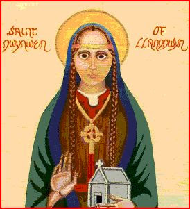 St Dwynwen - Patron Sain of  Lovers