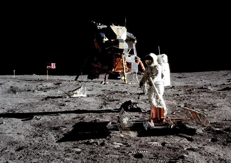 Imagens da missão Apolo