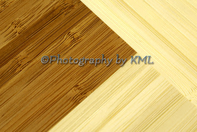 macro texture of a bamboo cutting board
