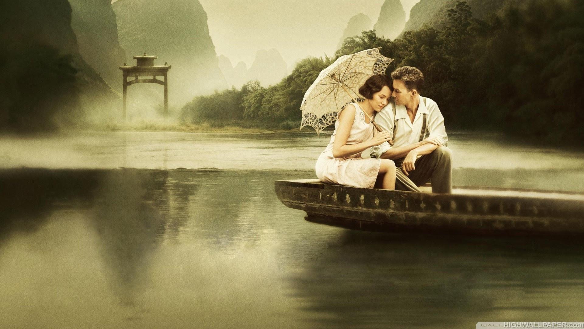 Resultado de imagem para couple by the river
