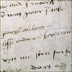 SP 1/167 f.14; letter from Catherine Howard, 1541 - opens in a new window