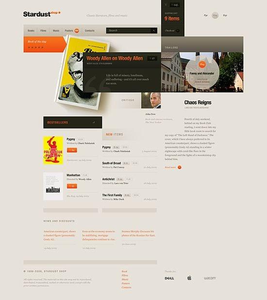 Amazing web design ideas free daily web design news for for Daily design news