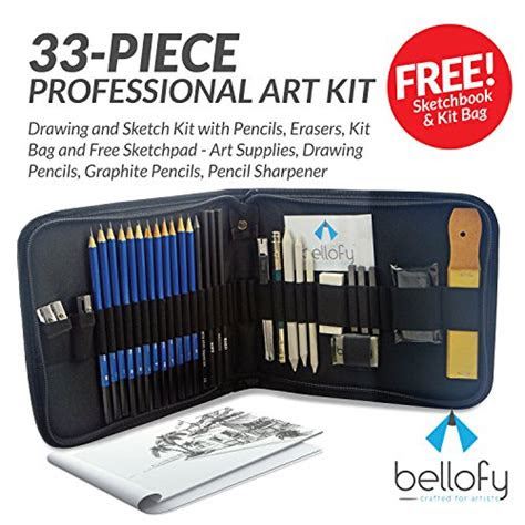 piece professional art kit drawing  sketch kit