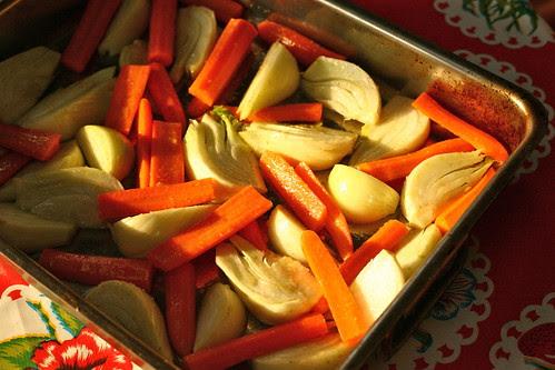 Venkel-wortelsoep