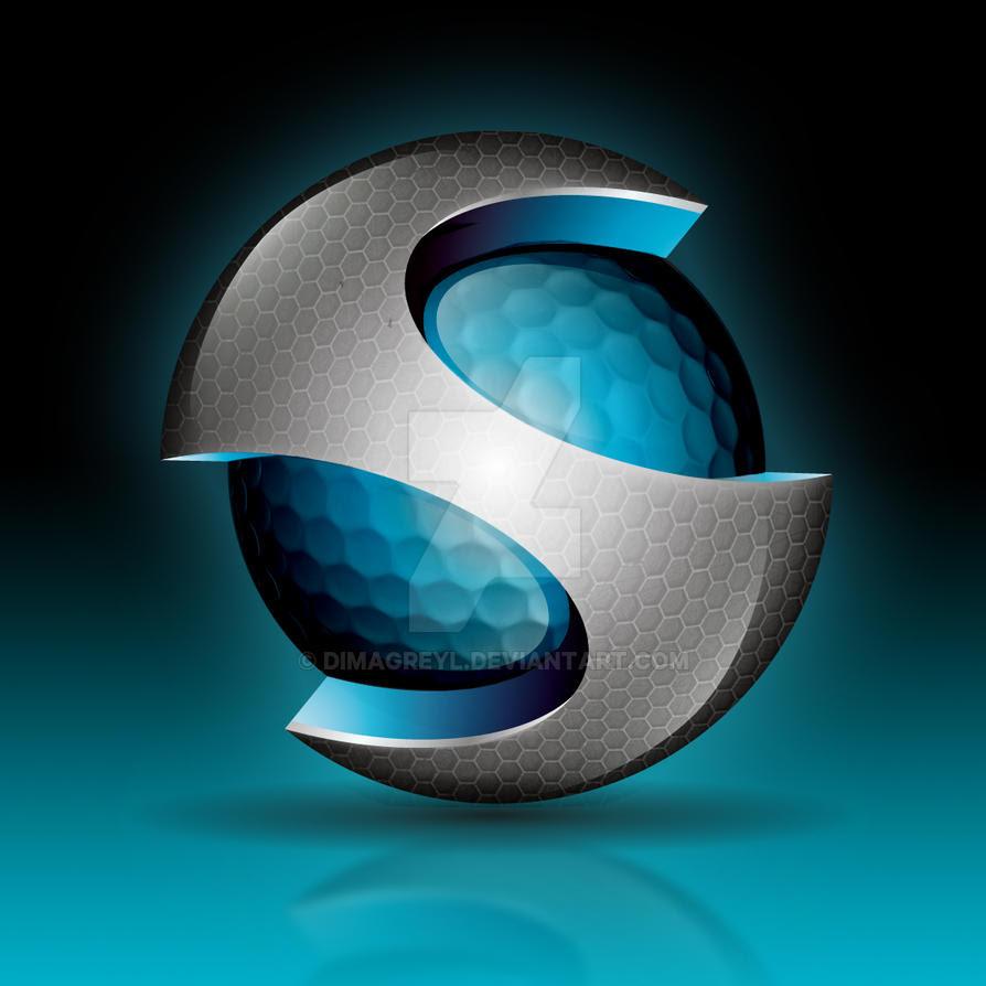 3d logo S by DimaGreyl on DeviantArt
