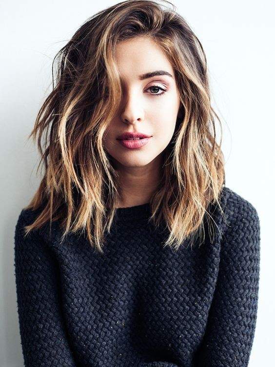 Length Haircut For Thick Hair Medium Style And Color 2017