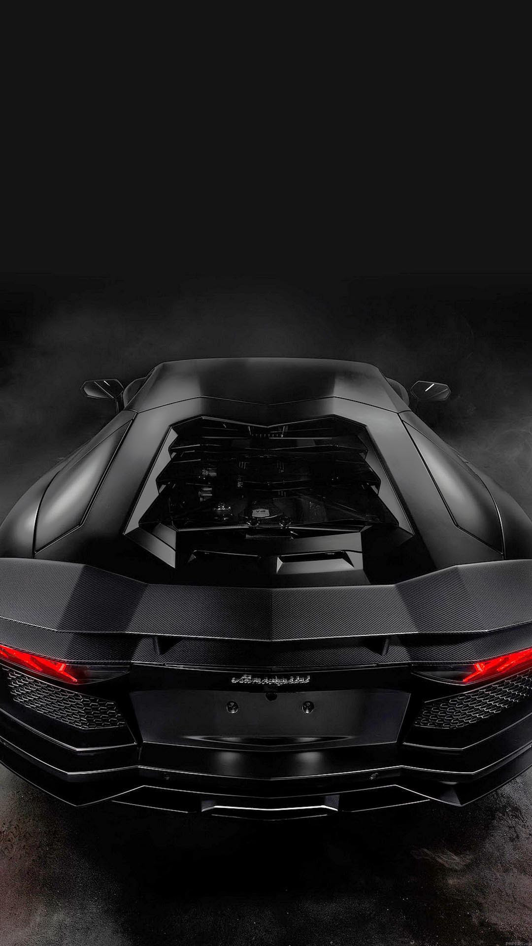 Lamorghini Aventador dark - best htc wallpaper