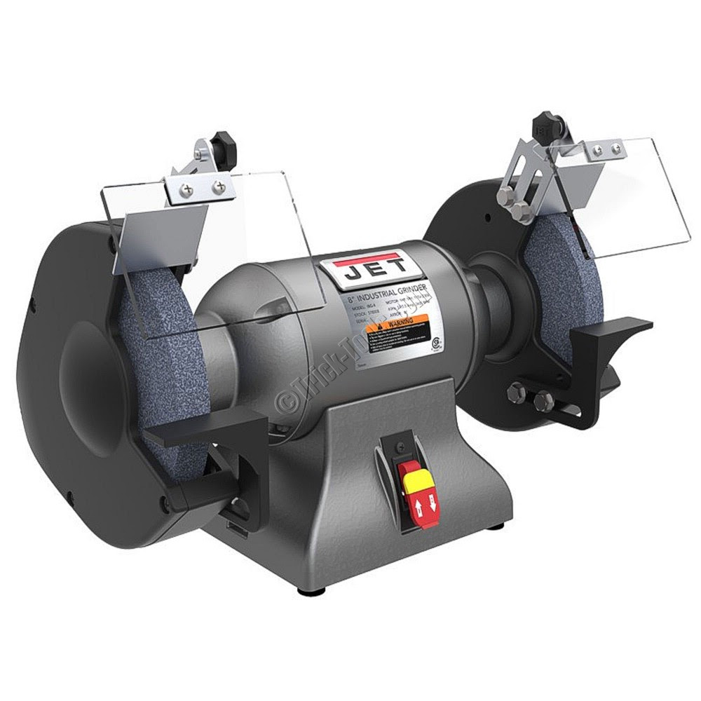 578008, JET IBG-8, 8 inch Industrial Bench Grinder Sander , 1 hp