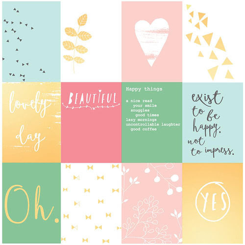 Pinkfresh Studio - Happy Things Collection - Acetate Cards Set