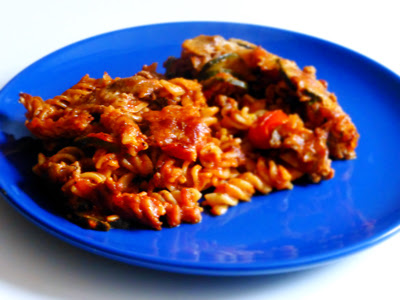 Low-fat Turkey Mince Pasta Bake | Mutherfudger